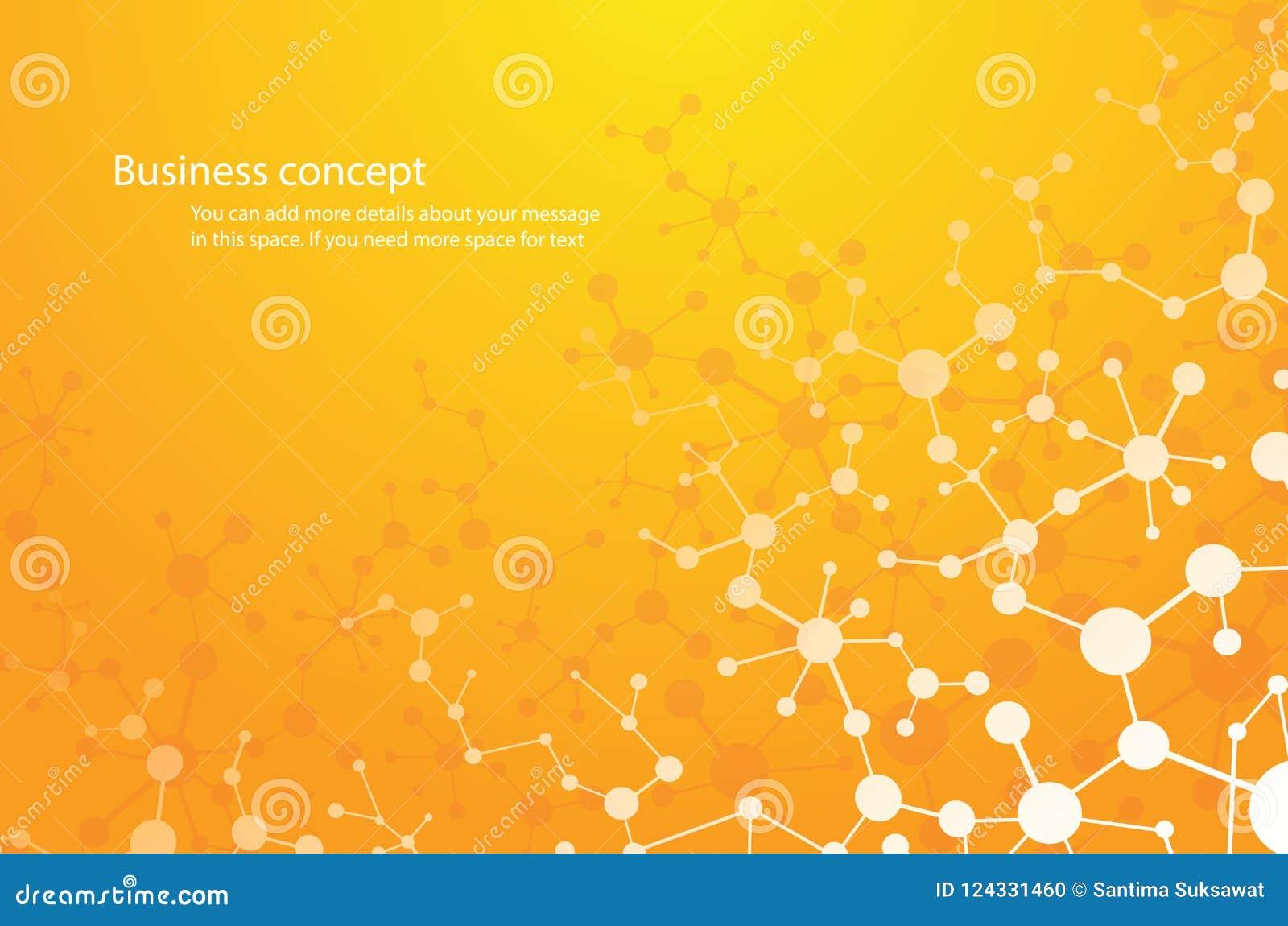 Il fondo di scienza, e-prodotto chimico del fondo della molecola compone la tecnologia medica o scientifico genetico Concetto per