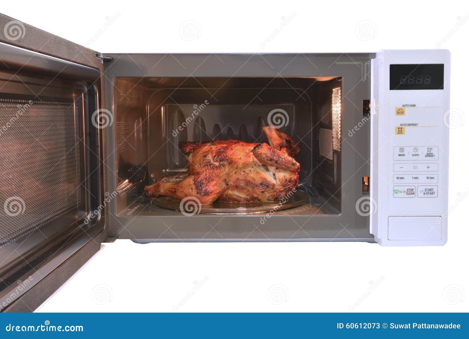 Il forno a microonde pollo arrostito caldo con pepe nero - Forno multifunzione con microonde ...