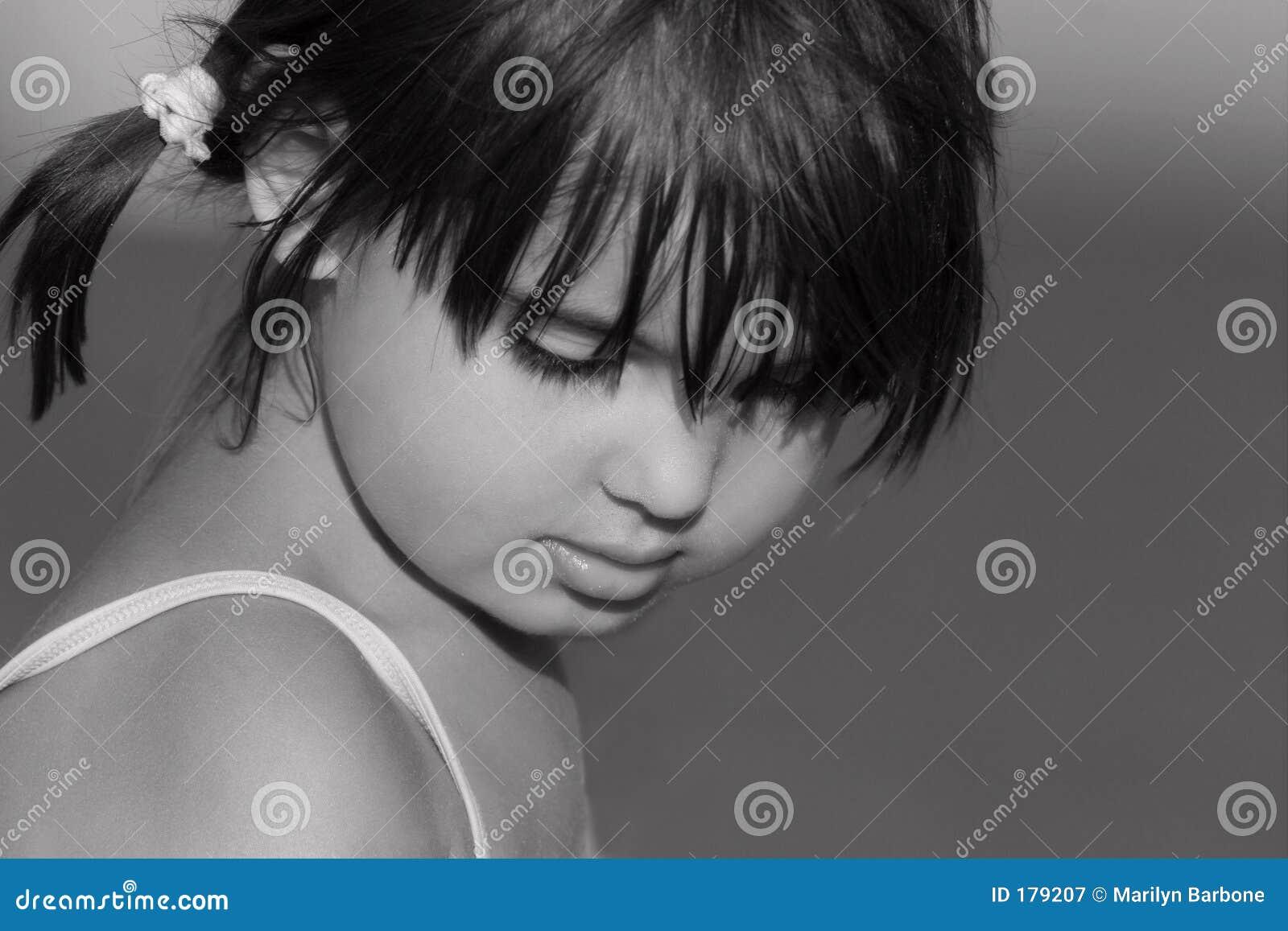 Il fronte di un bambino