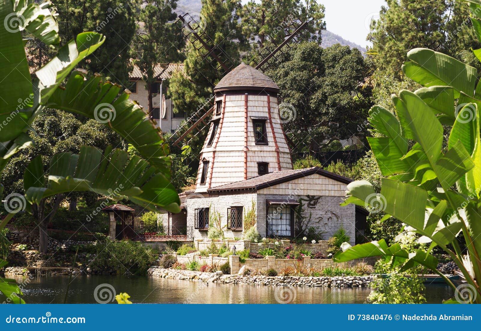 Il giardino della meditazione in Santa Monica, Stati Uniti