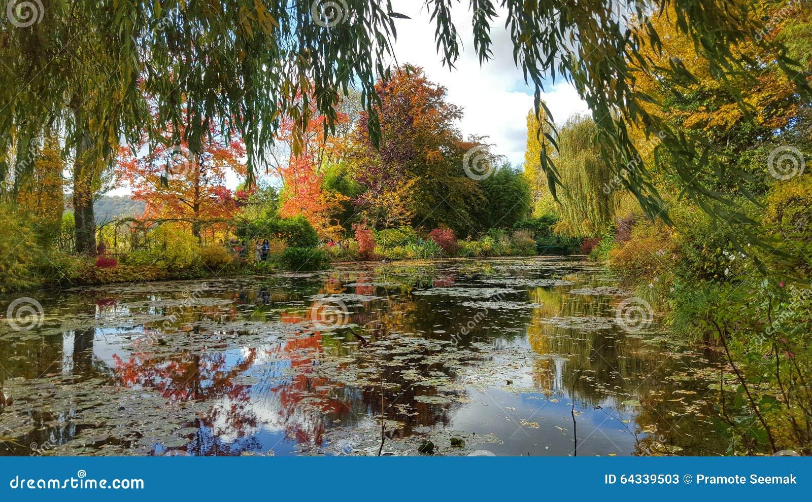 Il giardino di monet giverny francia dello stagno - Il giardino di monet ...