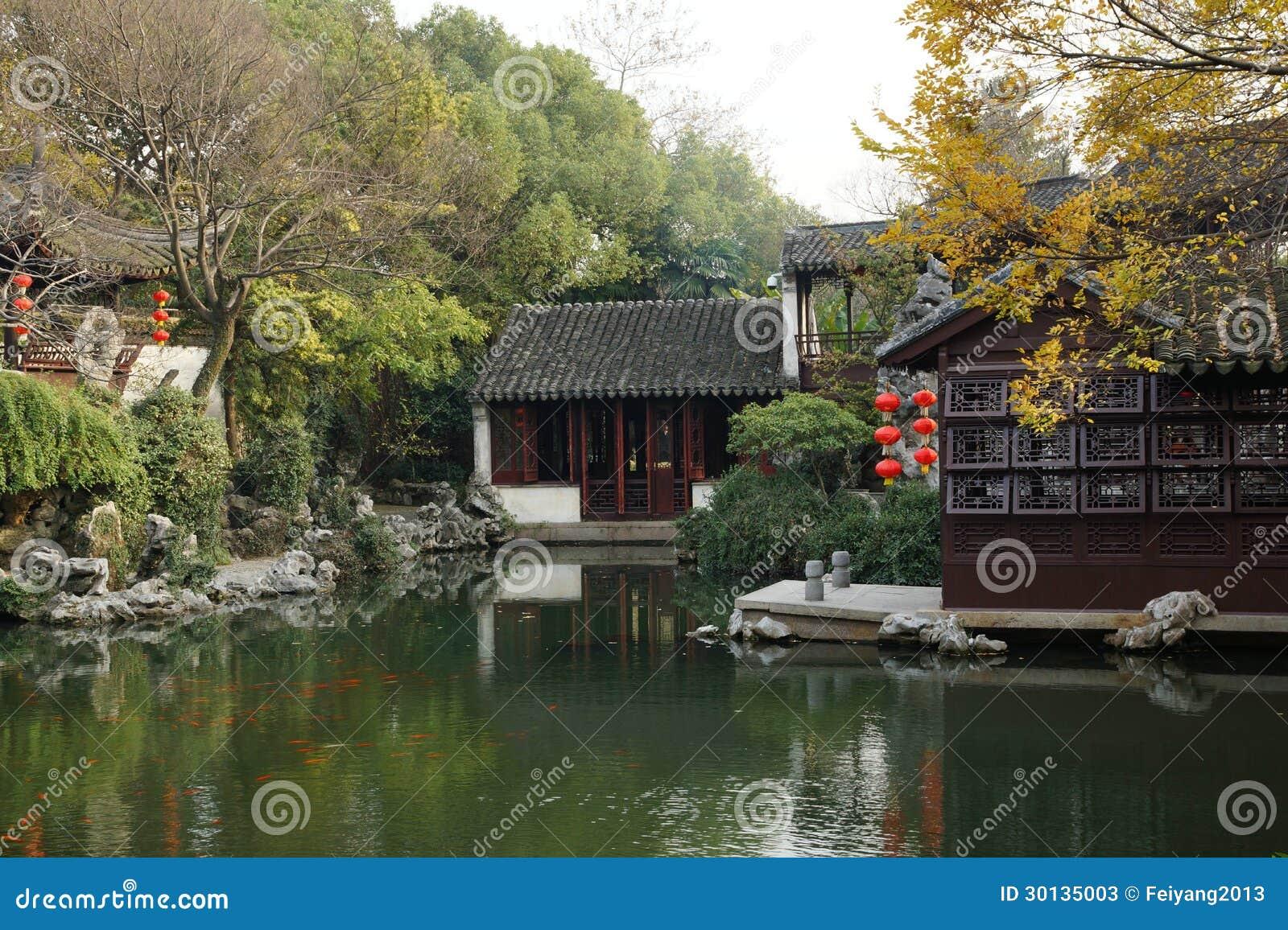 Giardini A Suzhou, Cina Fotografie Stock - Immagine: 30135003