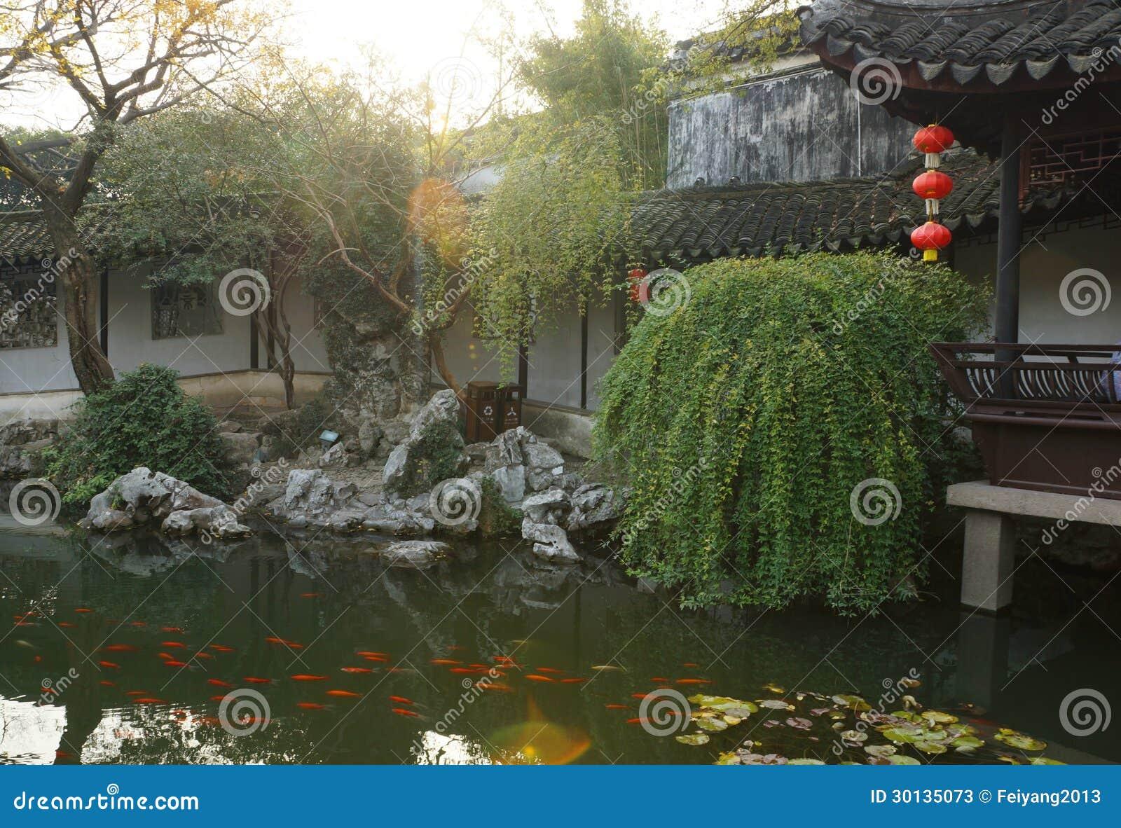 Giardini A Suzhou, Cina Fotografie Stock - Immagine: 30135073