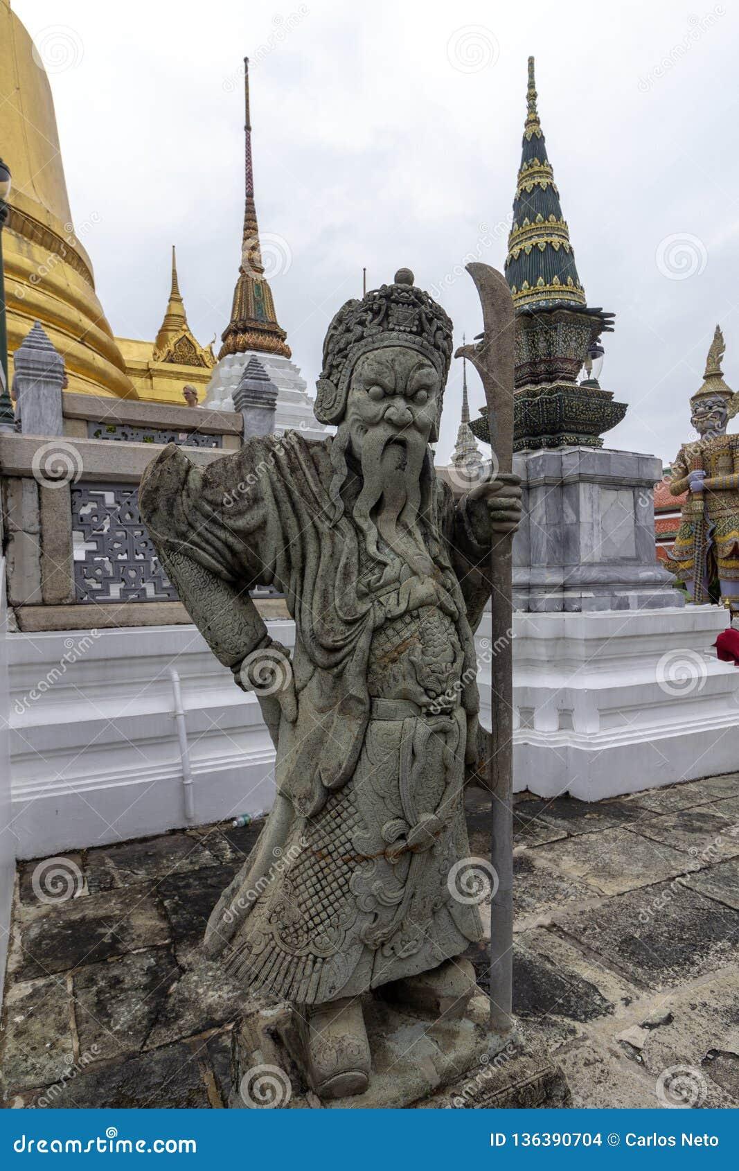 Il grande palazzo, al centro di Bangkok, la sua costruzione ha cominciato 1782, all ordine di re Phutthayotfa Chulalok thailand