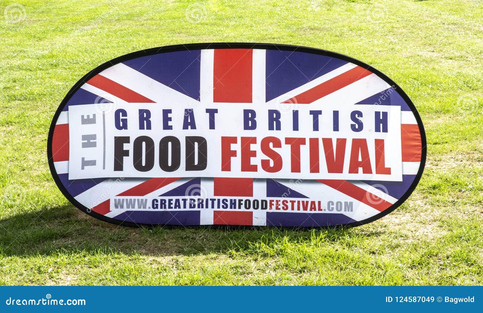 Il grande segno britannico di festival dell alimento alla Camera di Bowood nel Wiltshire