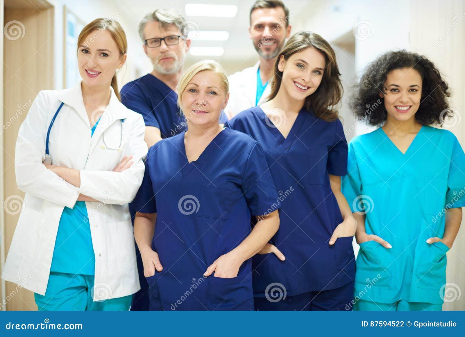 Il gruppo dei chirurghi