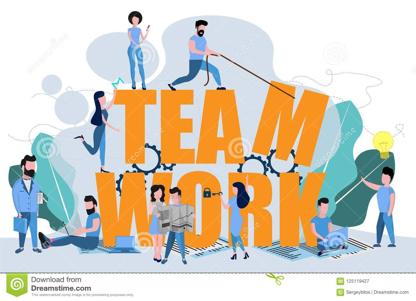 Il lavoro di squadra per raggiungere lo scopo