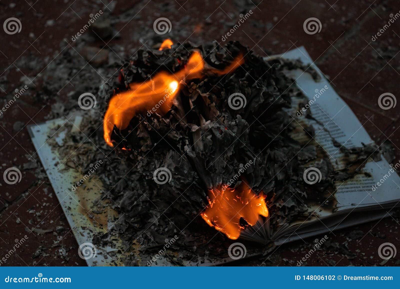 Il libro ? su fuoco