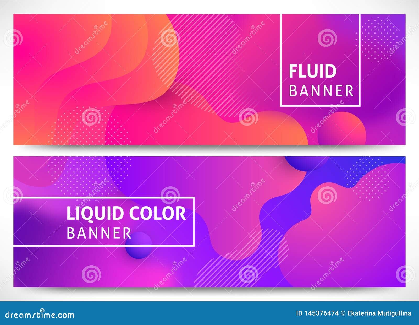 Il liquido modella le insegne orizzontali