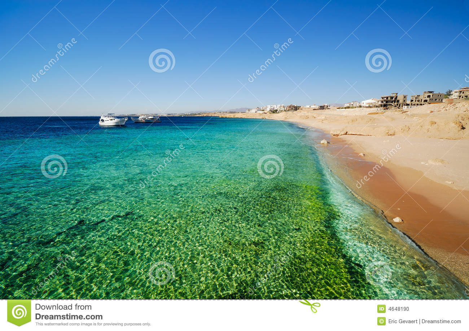 Il litorale di Sharm El Sheikh