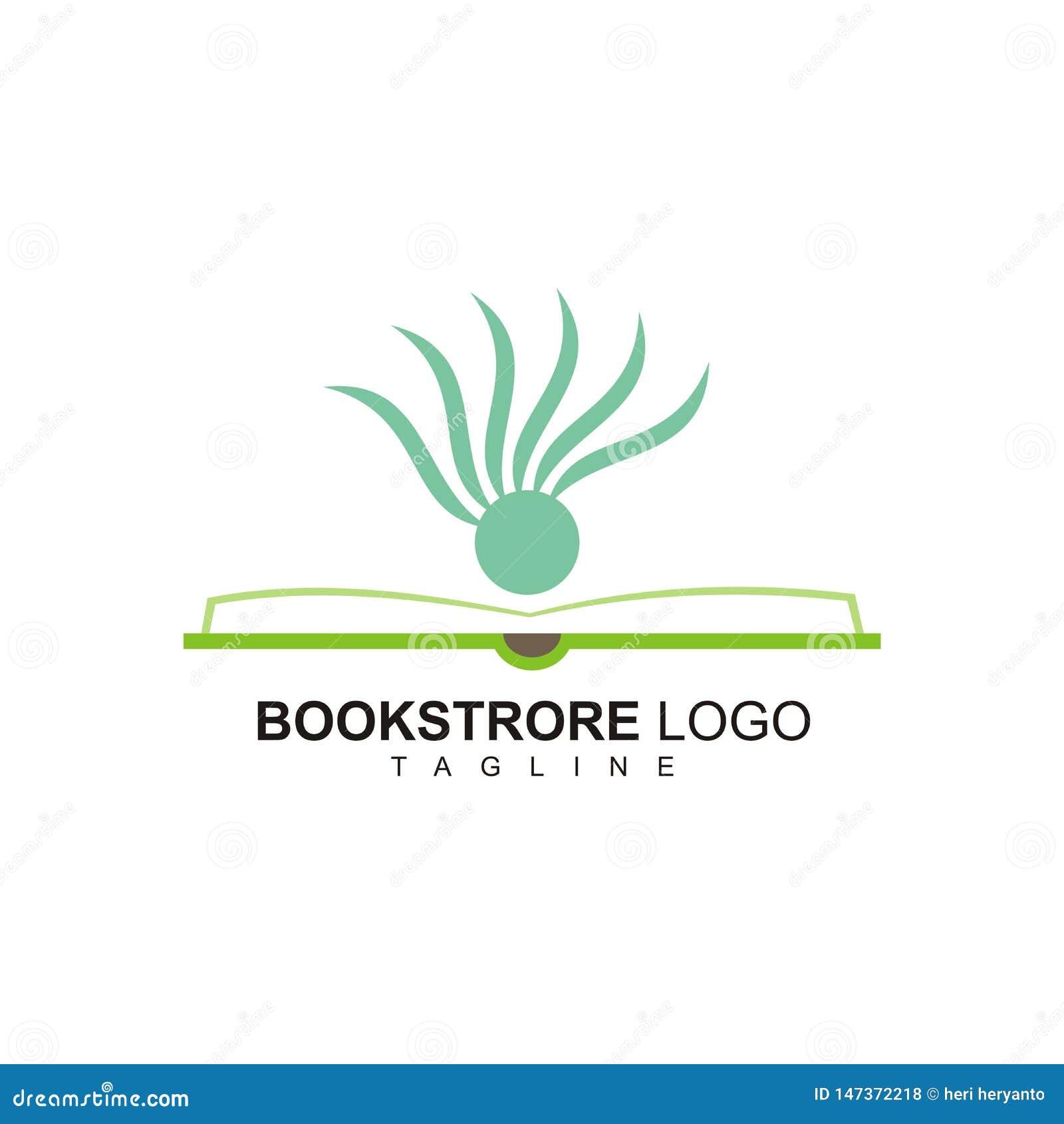 Il logo creativo della libreria