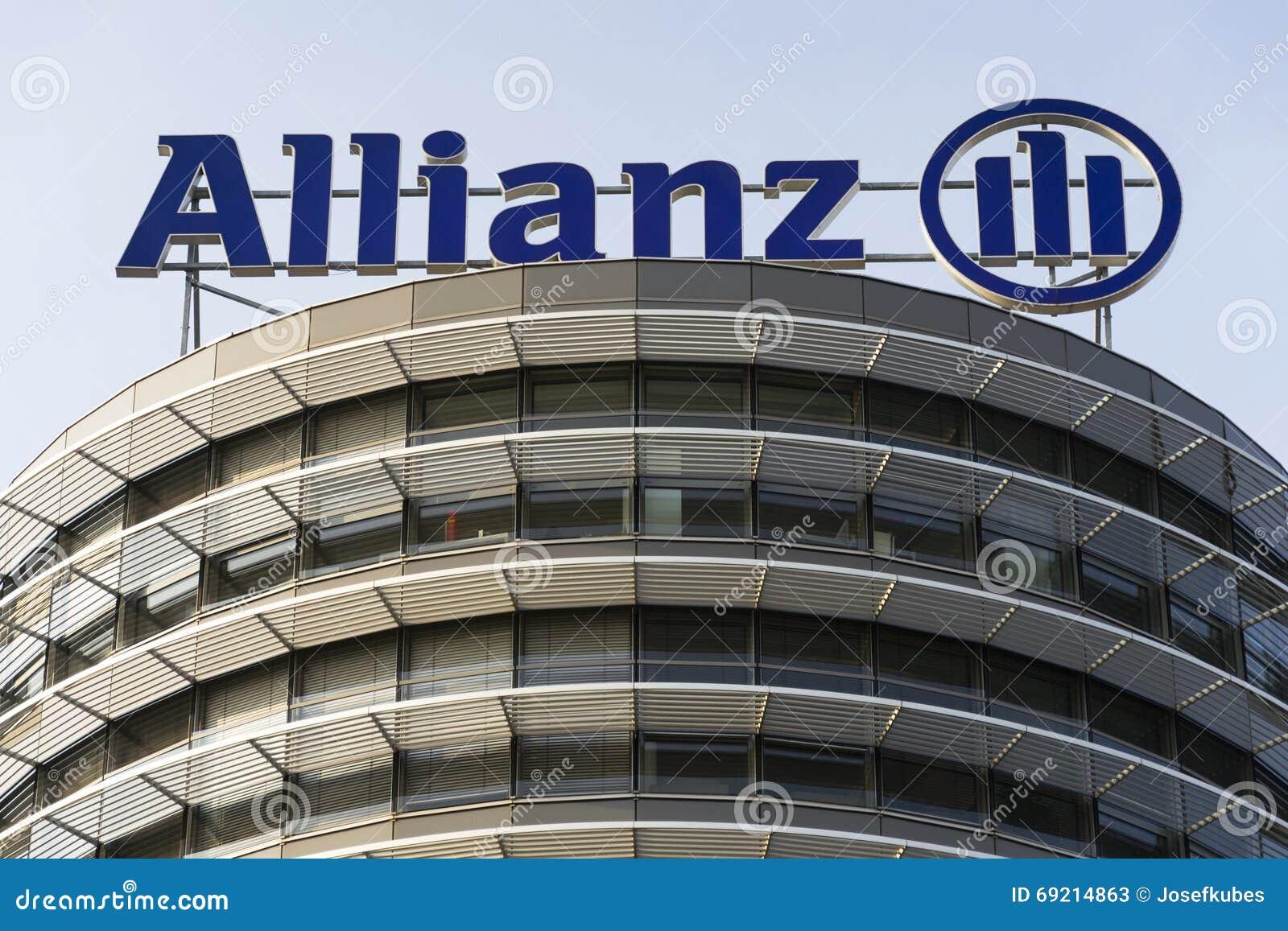 Il logo di assicurazione e finanziario del gruppo dell for Allianz condizioni generali di assicurazione