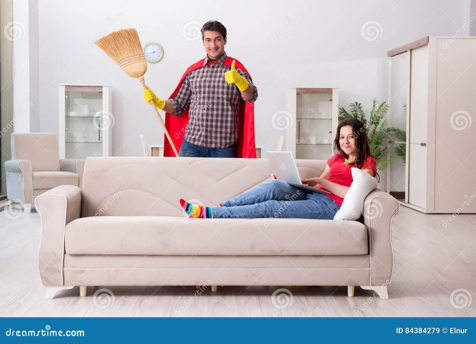 Casa casalinga moglie