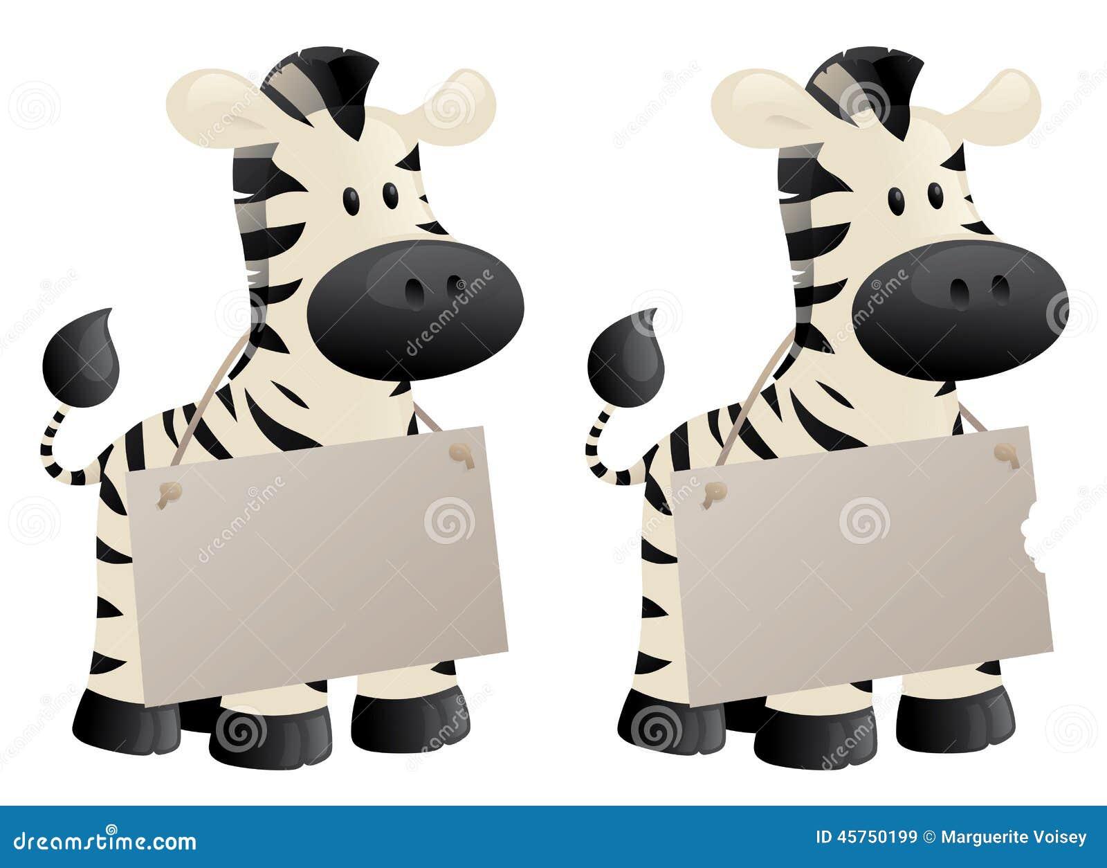 Il messaggio della zebra