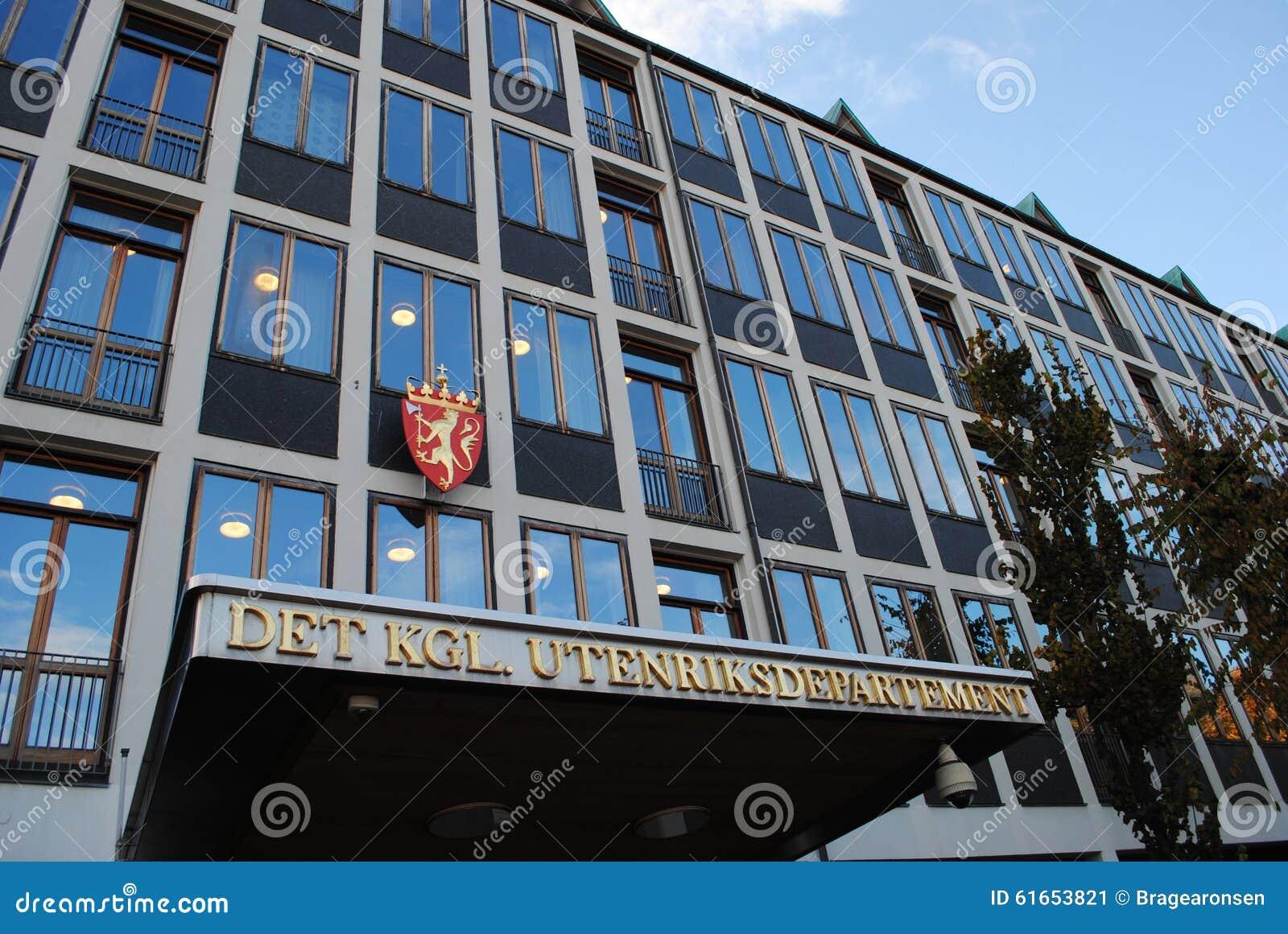 Il ministero degli affari esteri norvegese
