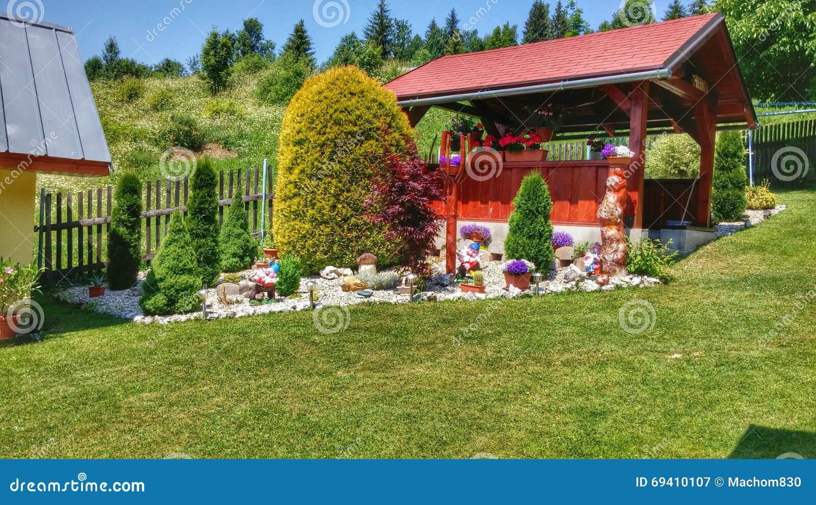 Il mio giardino immagine stock immagine di immagine