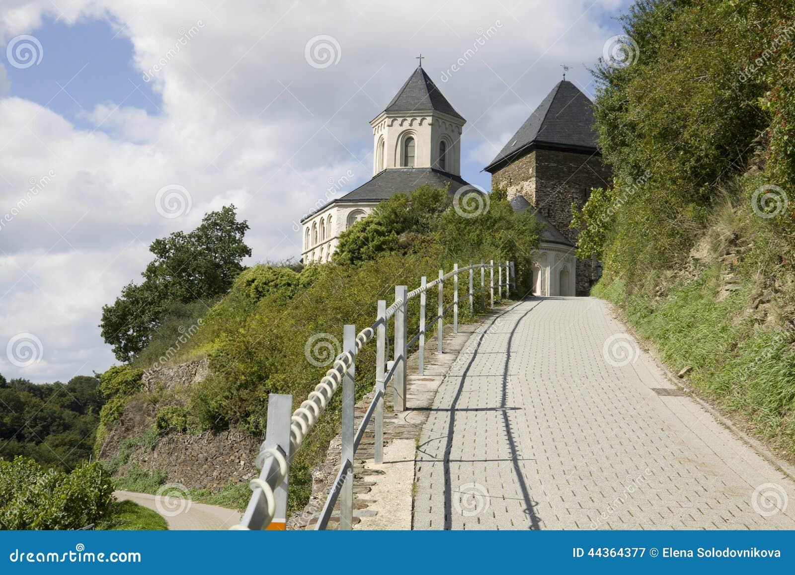 Il modo alla cappella della st Matthias in Kobern-Gondorf