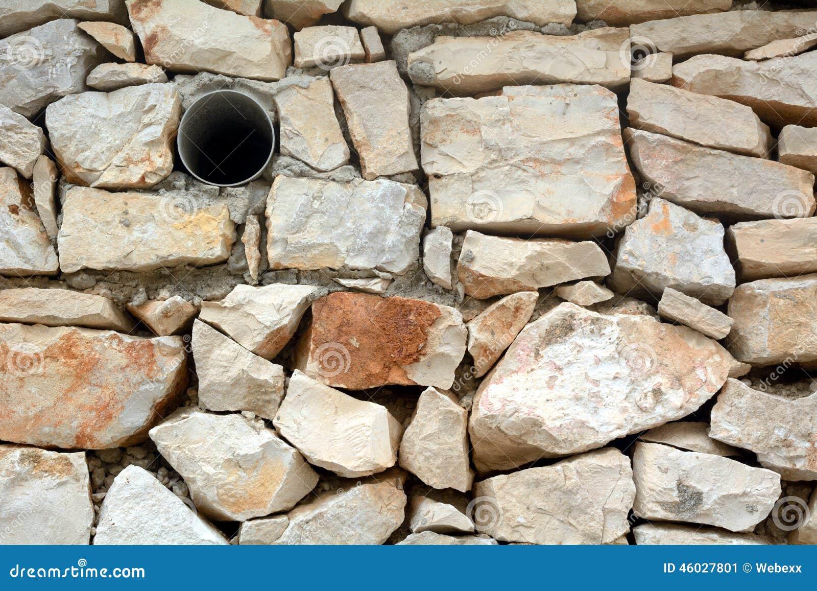 Muro Fatto In Pietra il muro a secco ha fatto il ‹del †del ‹del †dalle pietre