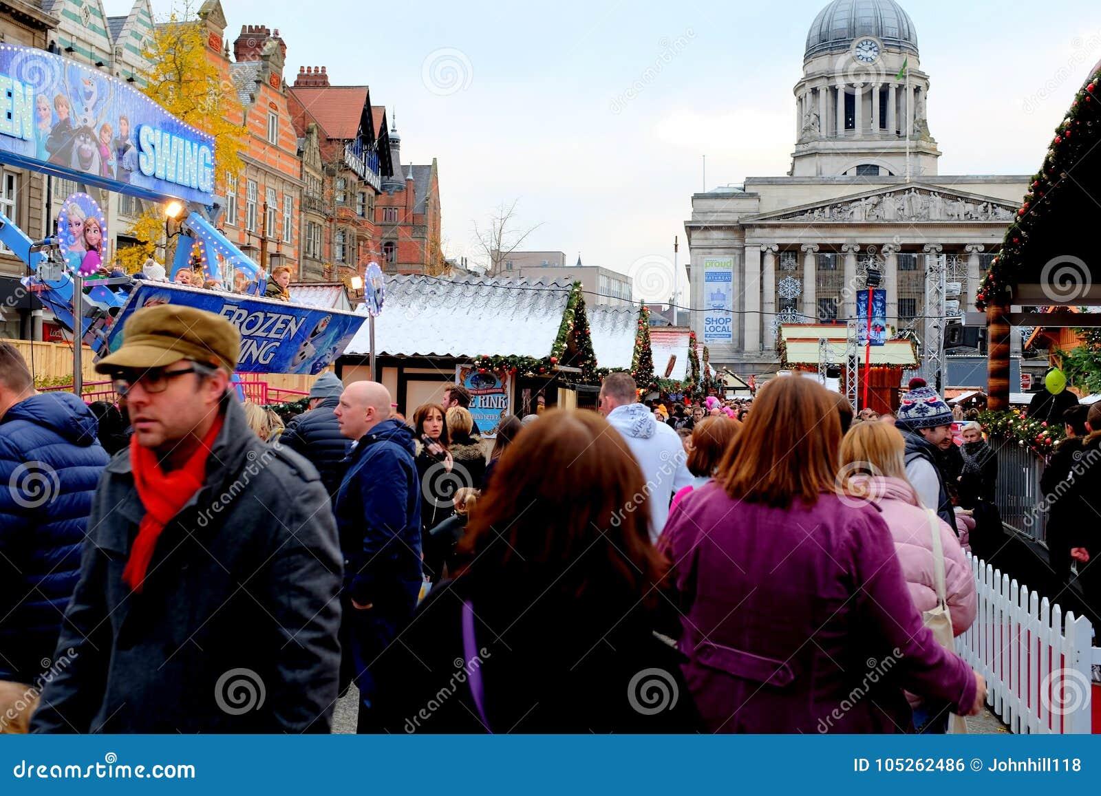 Il Natale commercializza, Nottingham, Regno Unito