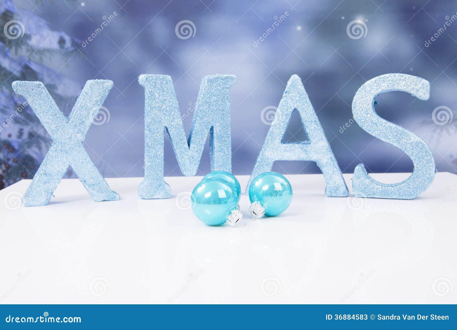 Download Il Natale Di Parola Nelle Lettere E Nelle Palle Blu Di Scintillio Immagine Stock - Immagine di stagionale, festive: 36884583