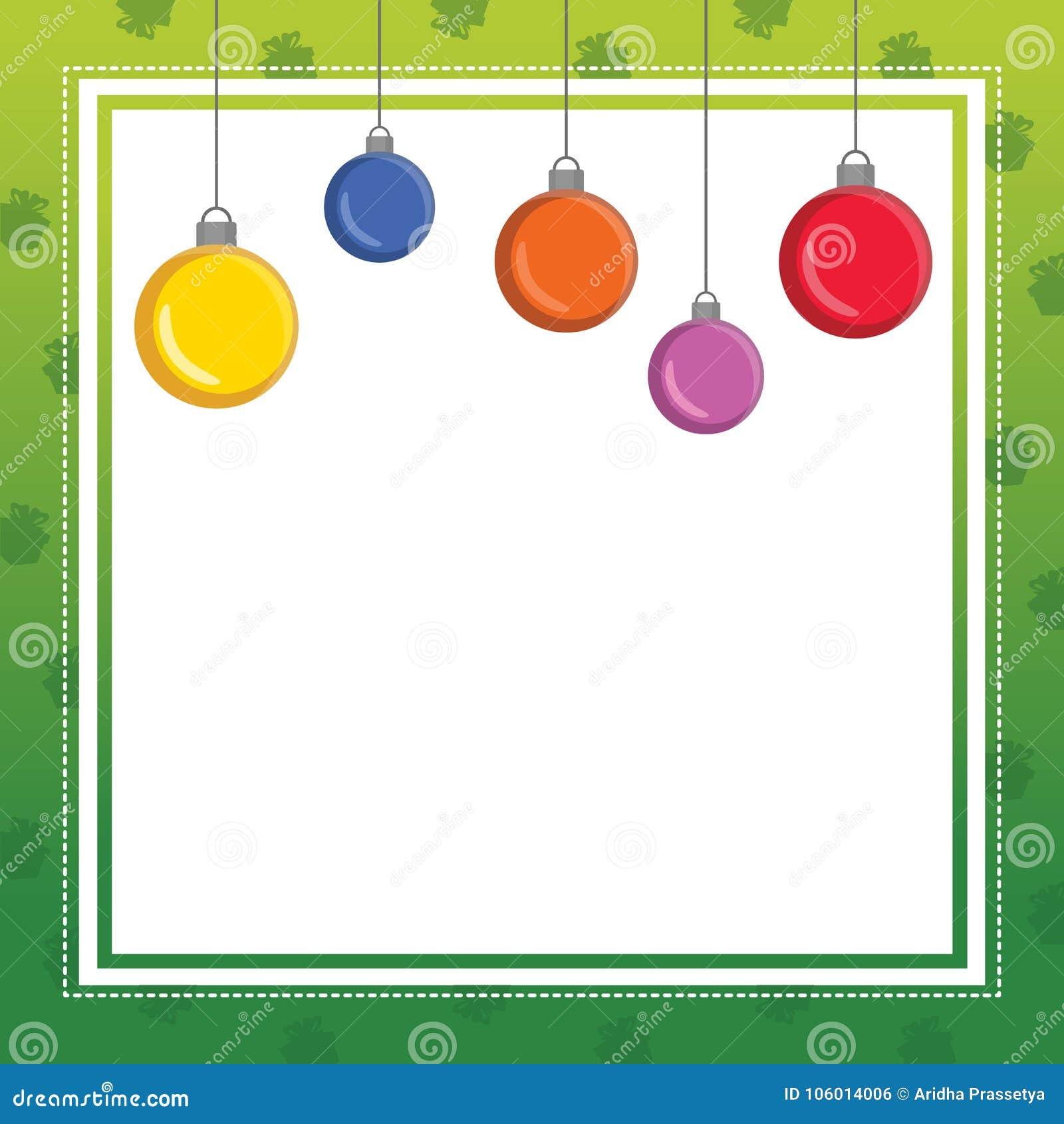 Il Natale incornicia la raccolta sveglia di progettazione