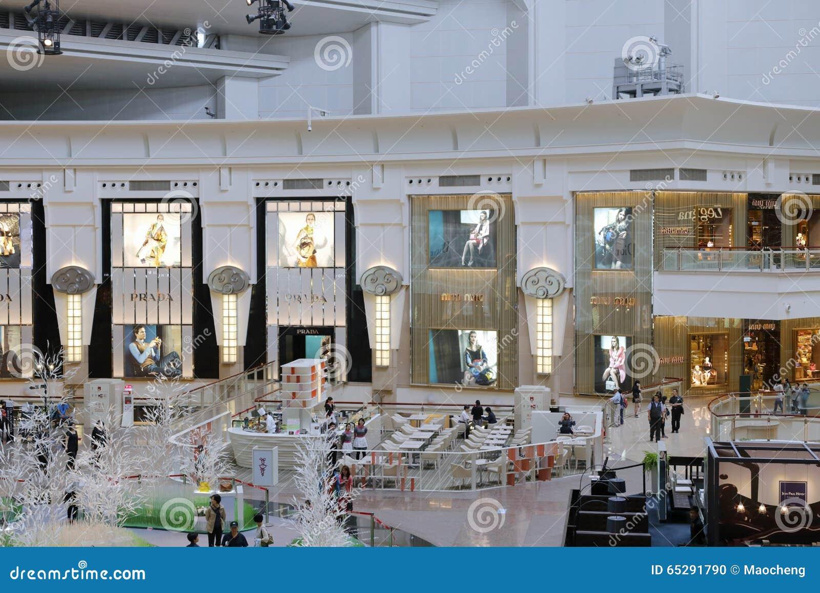 finest selection 0083b c6225 Il negozio di prada immagine editoriale. Immagine di ...