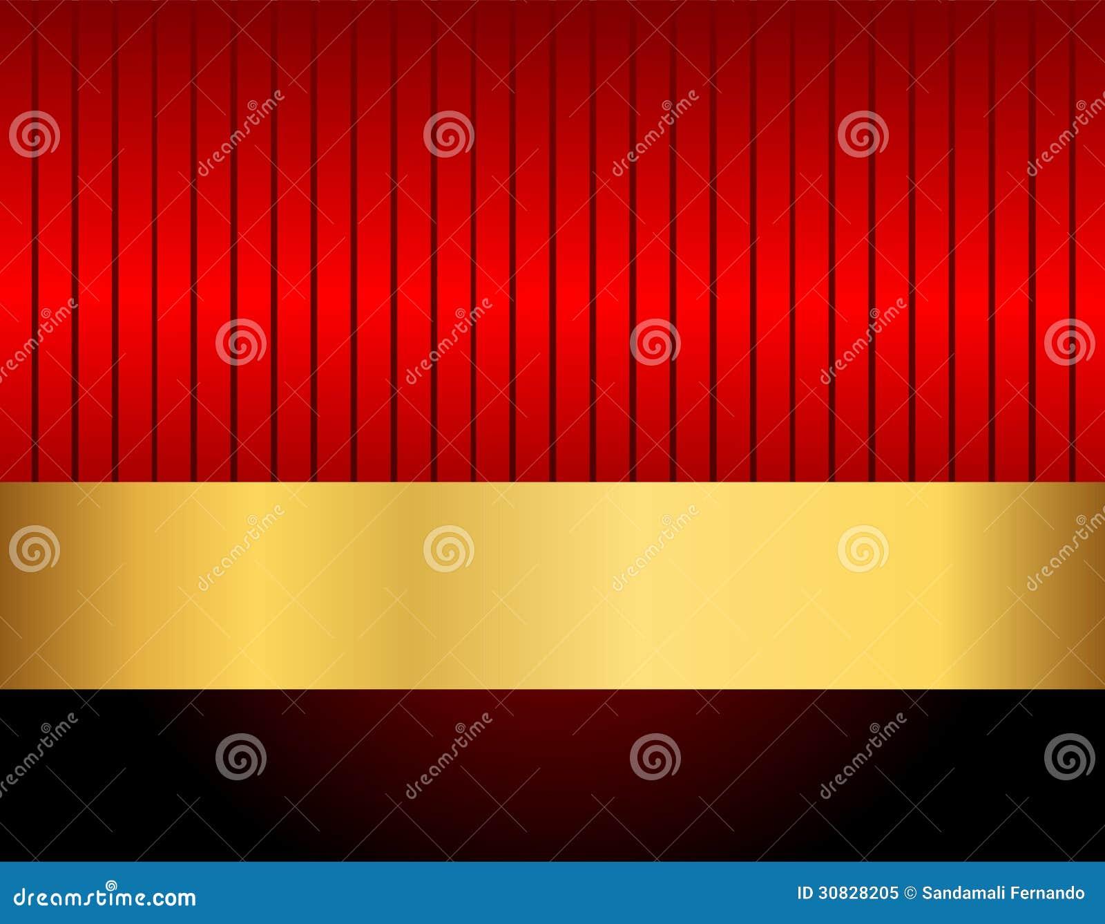 Il nero e rosso dell oro