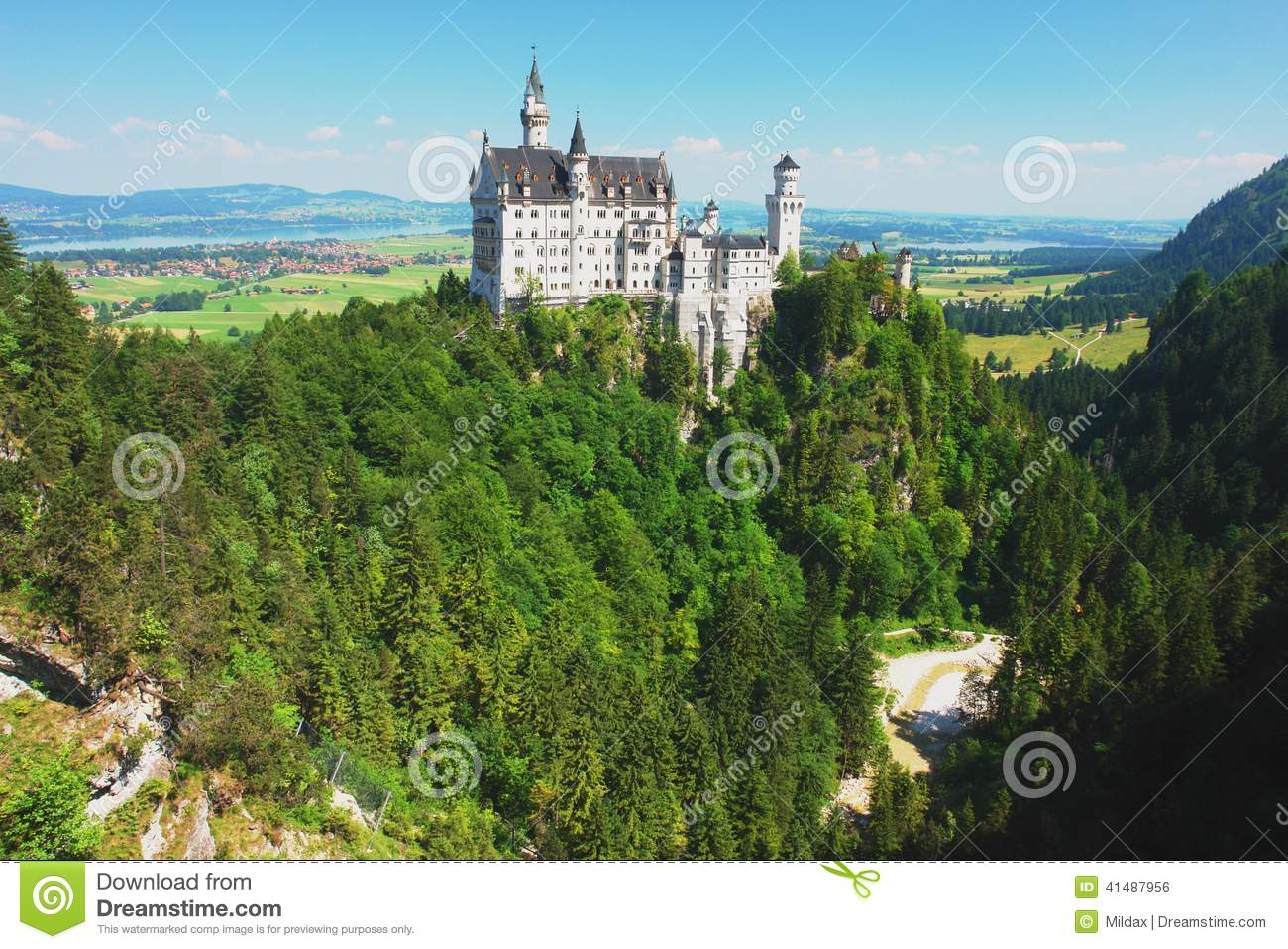 Il Neuschwanstein, Germania