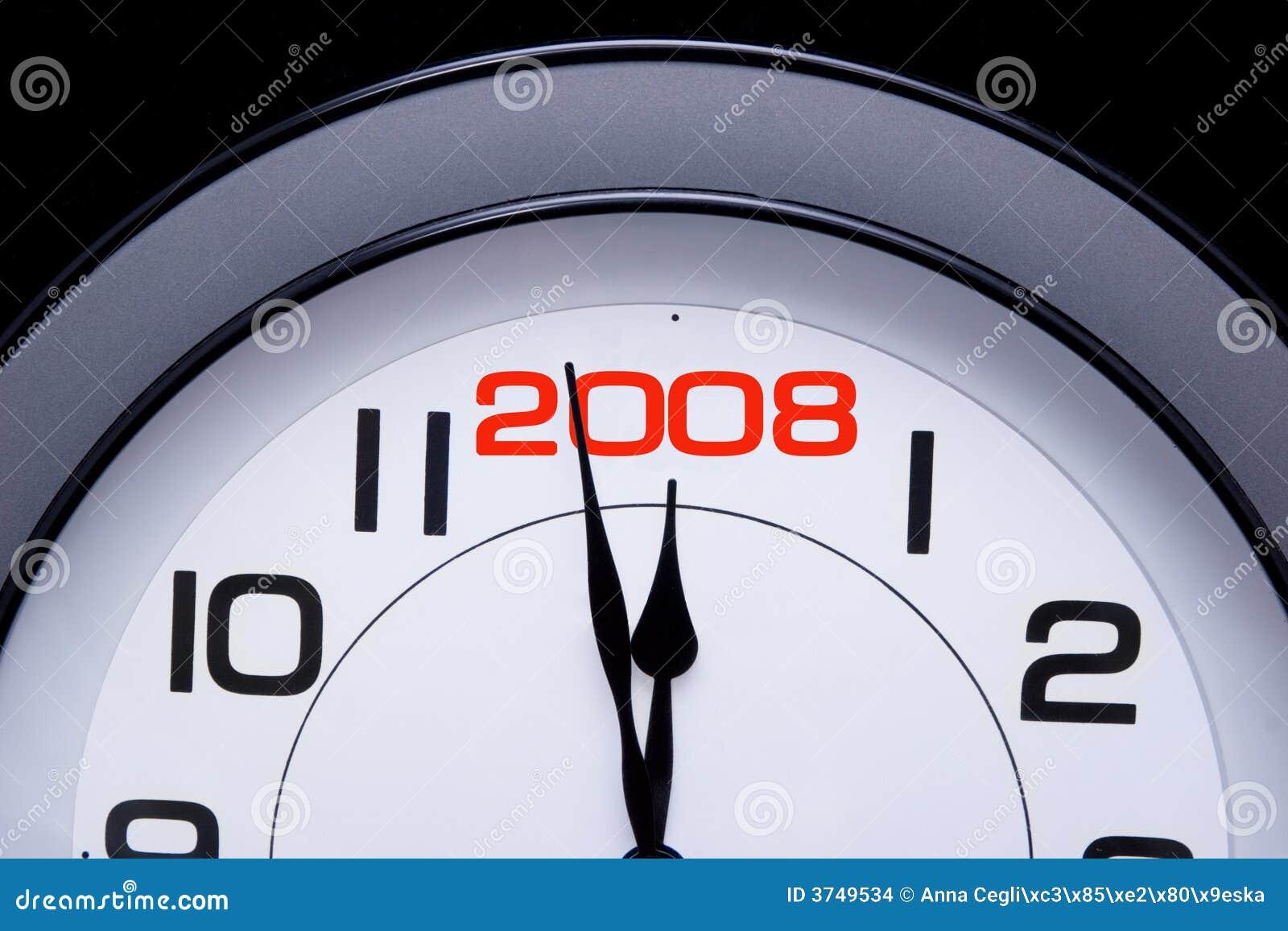 Il nuovo anno 2008 è qui