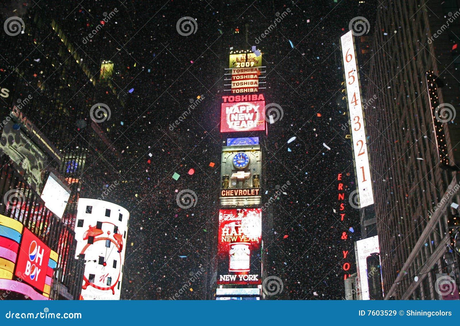 Il nuovo anno ha accolto occasionalmente il quadrato