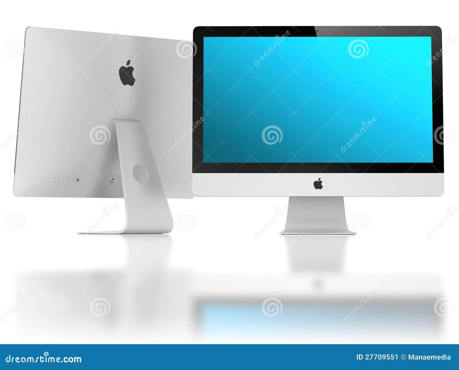 Il nuovo iMac eccellente dimagrisce la visualizzazione di 5mm