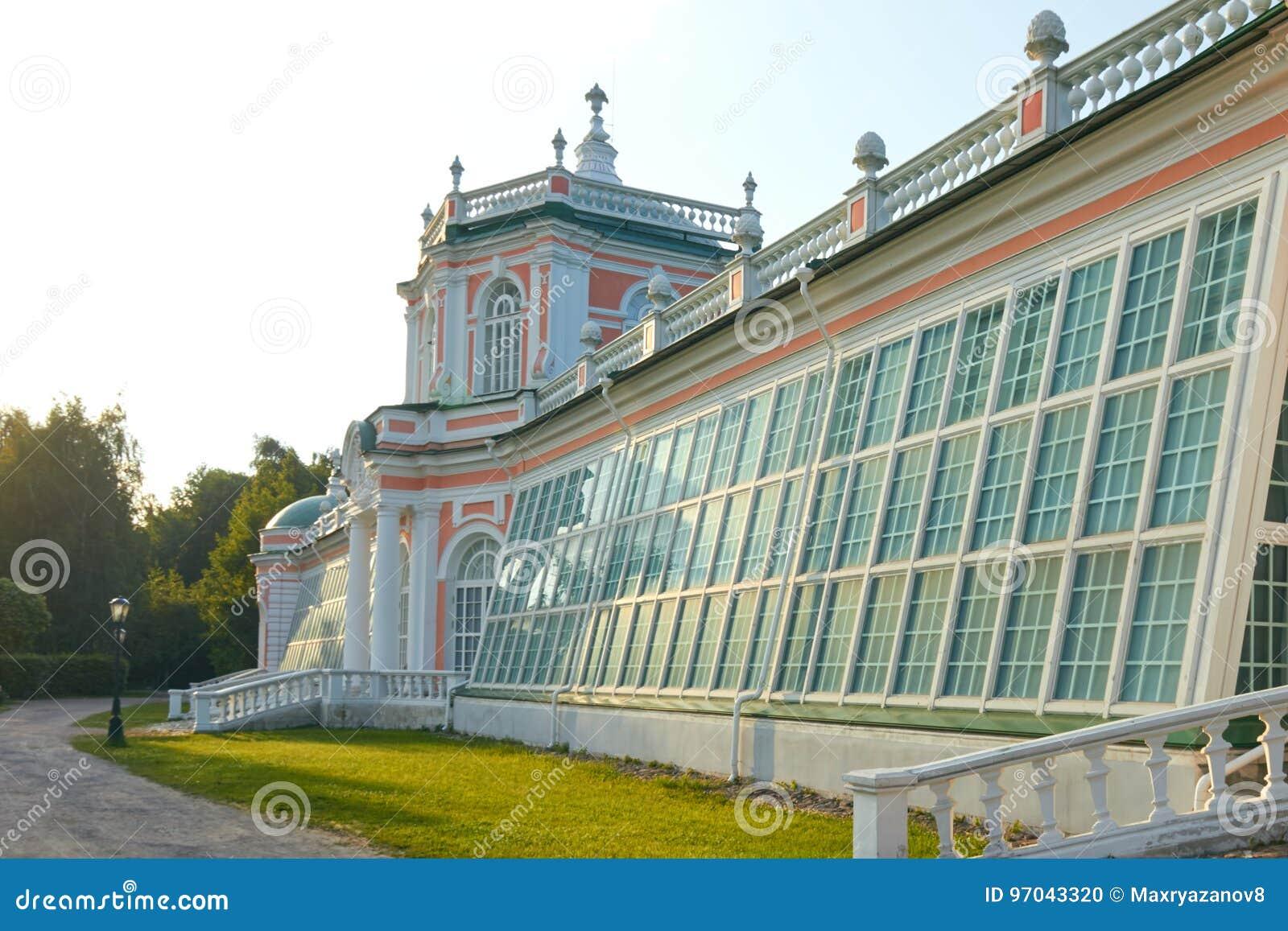 Il Orangerie nella proprietà di Kuskovo