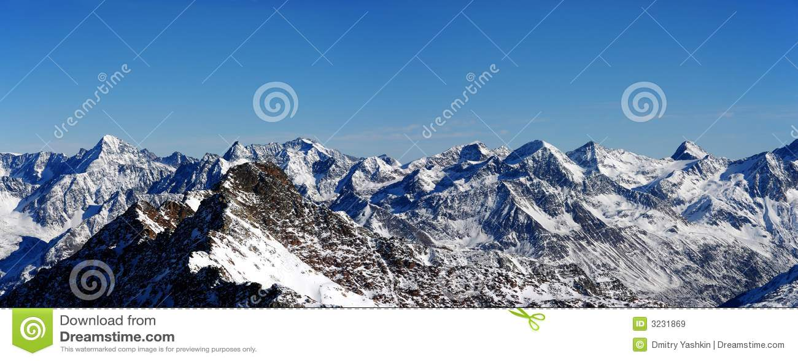 Il panorama alpino