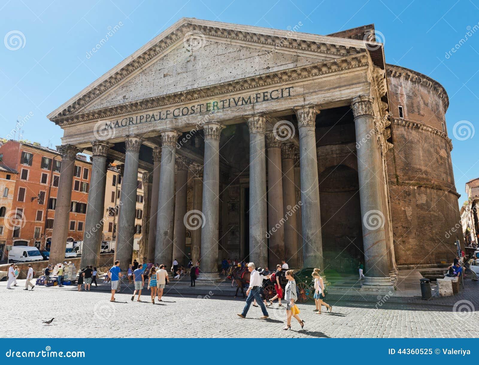 Il panteon è stato incaricato da Marcus Agrippa come tempio alla a