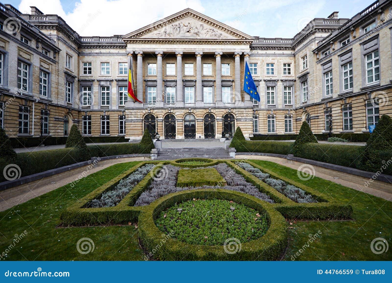 Il parlamento del belgio immagine stock immagine di for Il parlamento