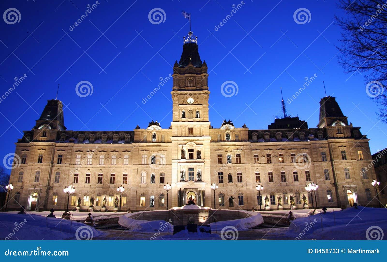 Il parlamento della quebec immagine stock immagine di for Il parlamento