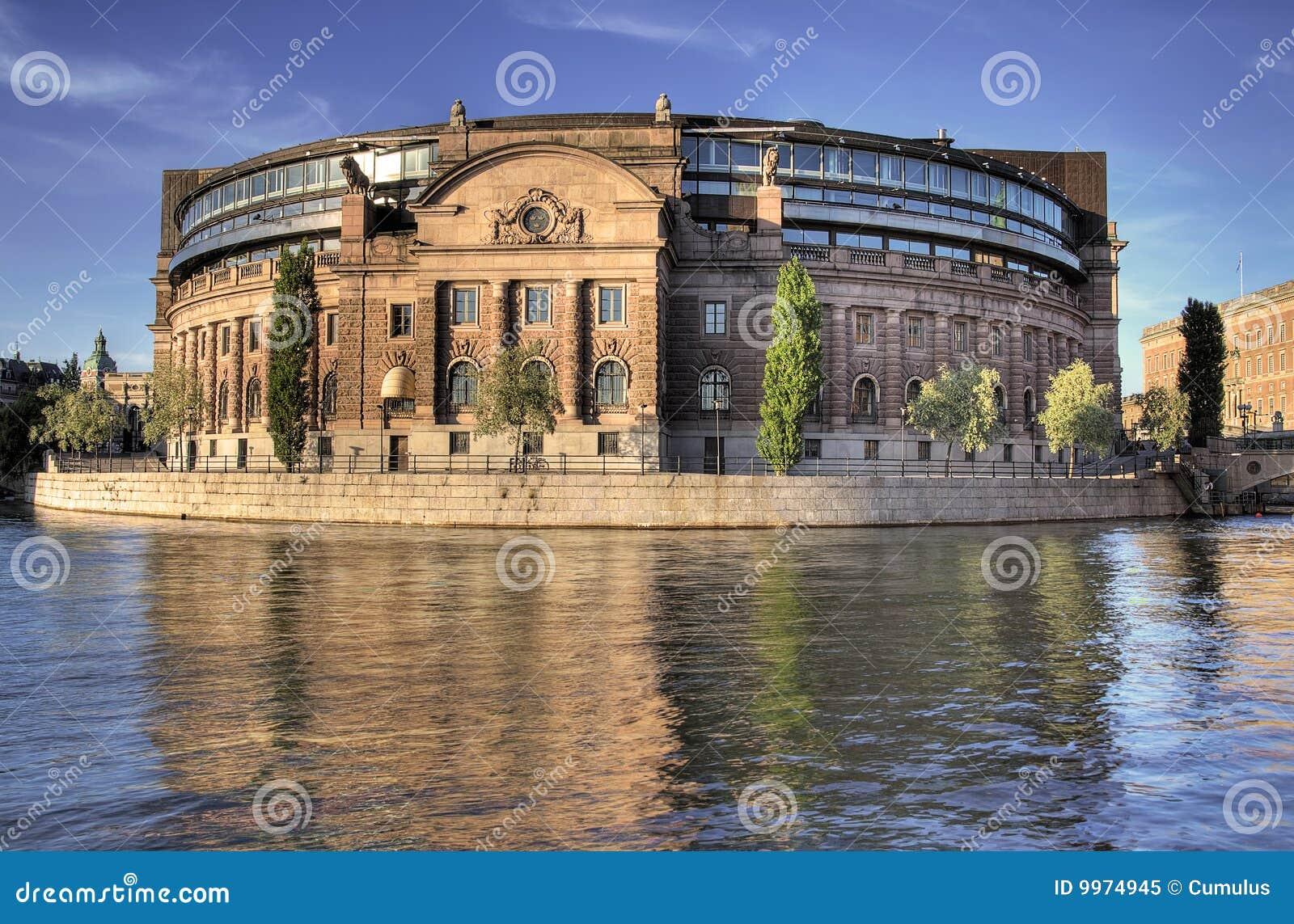 Il parlamento stoccolma immagine stock immagine di for Il parlamento