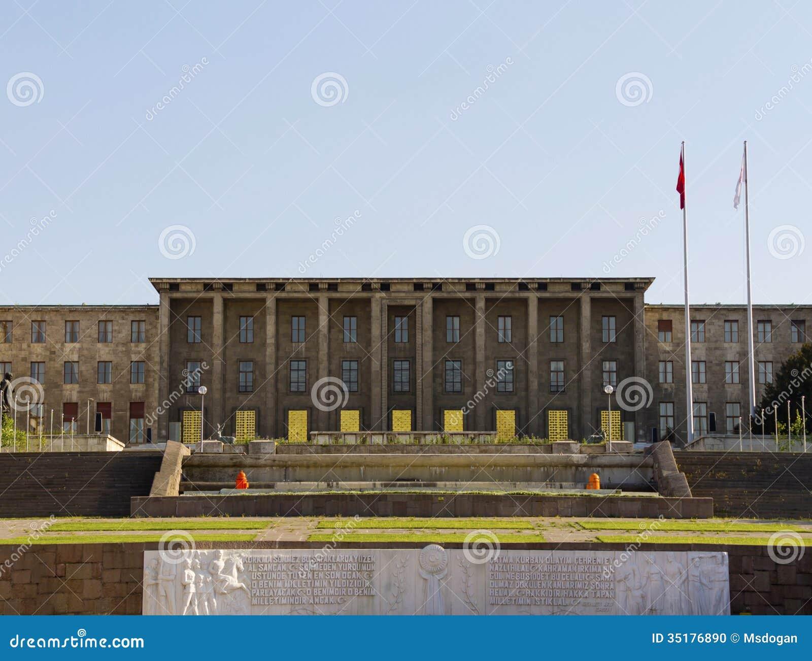 Il parlamento turco immagine editoriale immagine 35176890 for Il parlamento