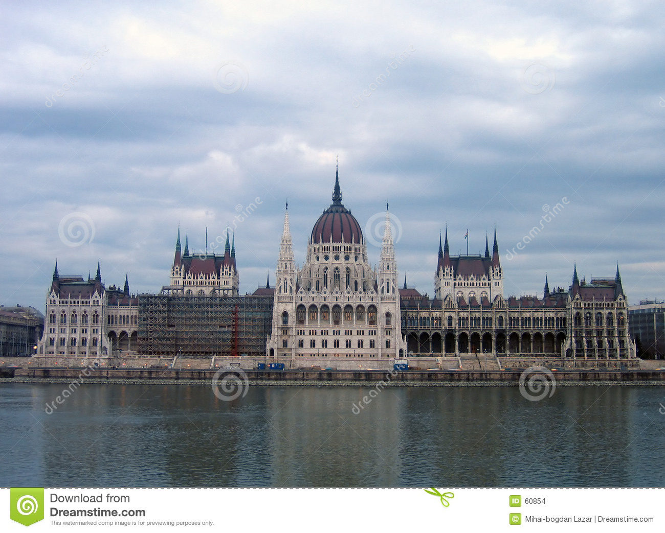 Il Parlamento ungherese - Budapest