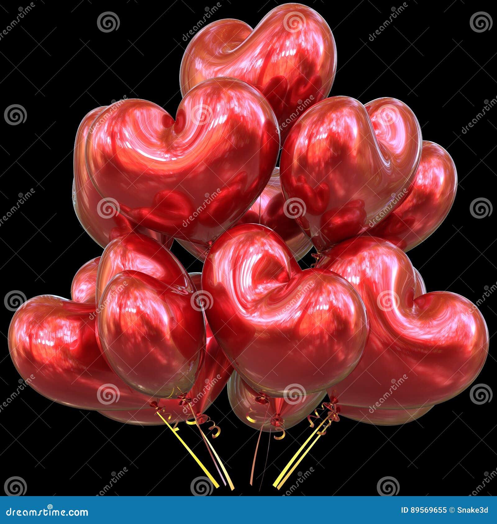 Super Il Partito Rosso Balloons L'evento A Forma Di Cuore Di Buon  ZQ09