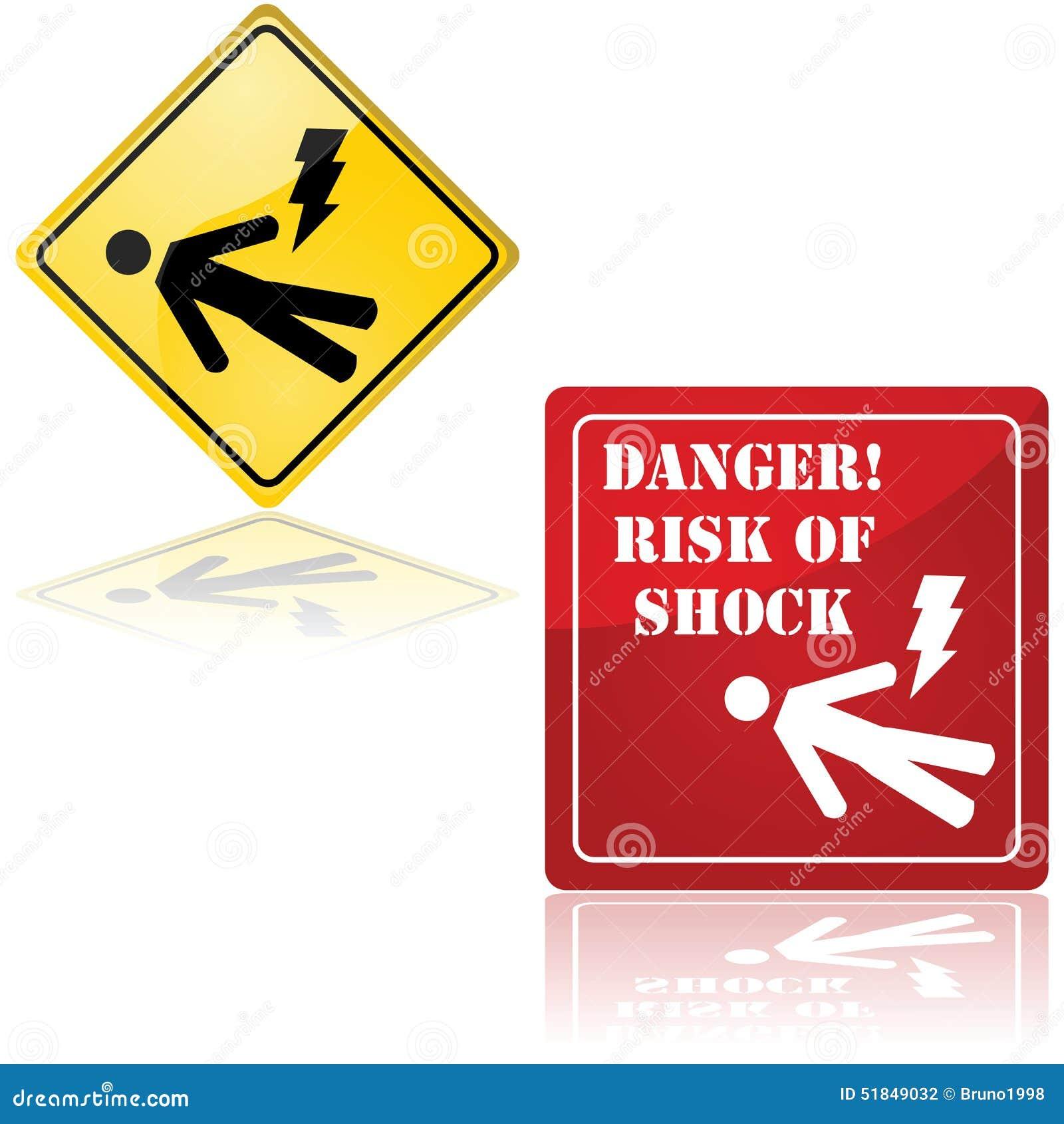Il pericolo di scossa