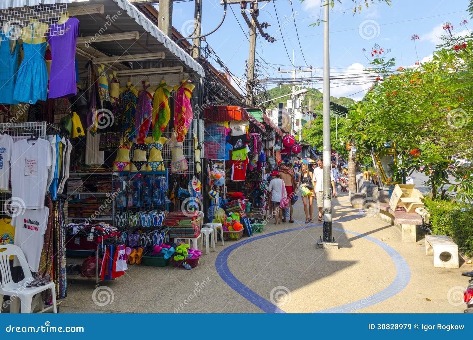 Il piccolo modo compera sul tailandese