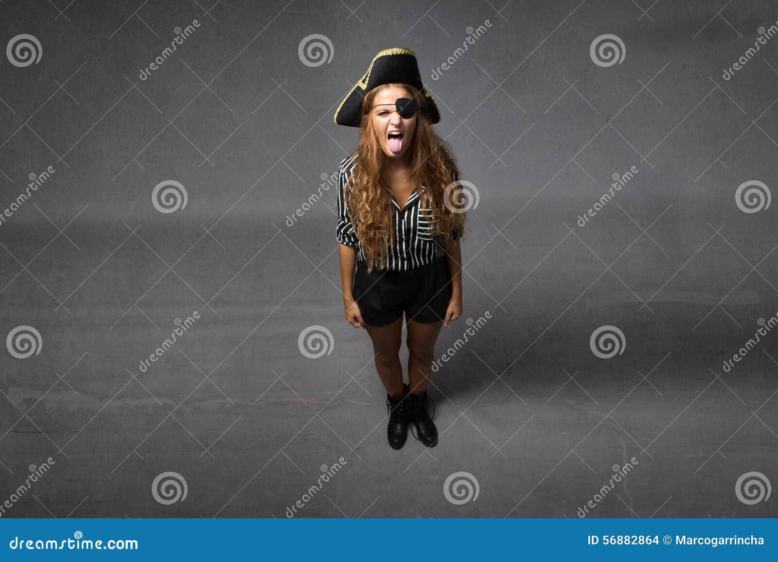 Il pirata ha fatto la lingua