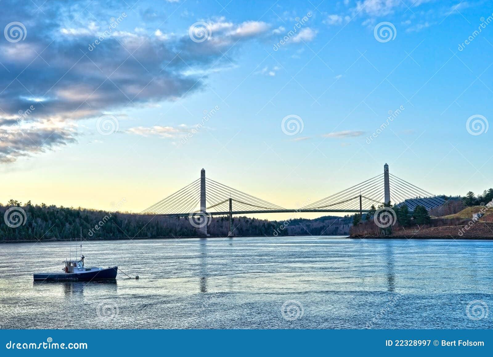 Il ponticello all isola Maine di Verona