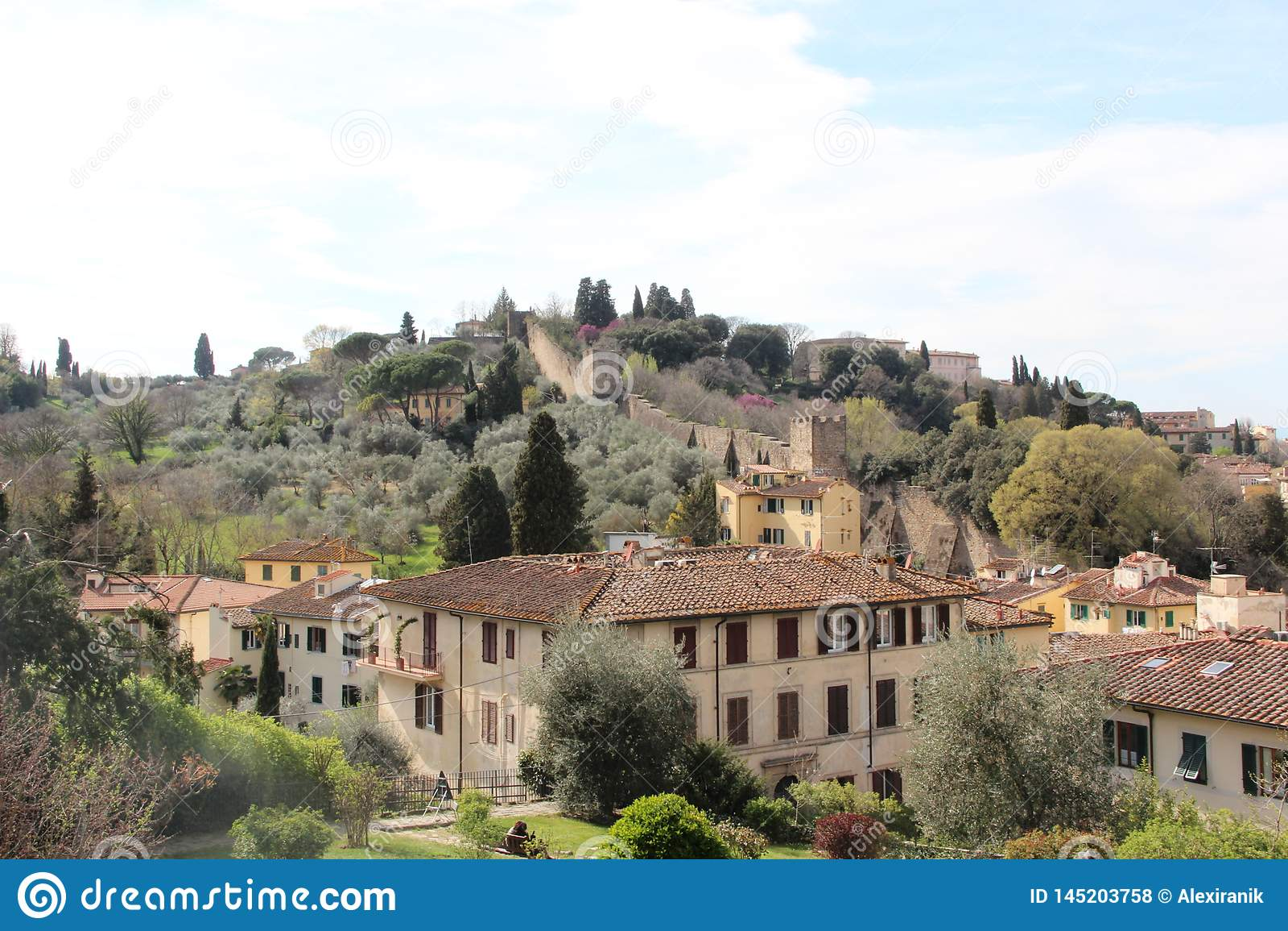 Il posto pi? bello, primavera 2019, punti scenici, paesaggio, natura di Firenze