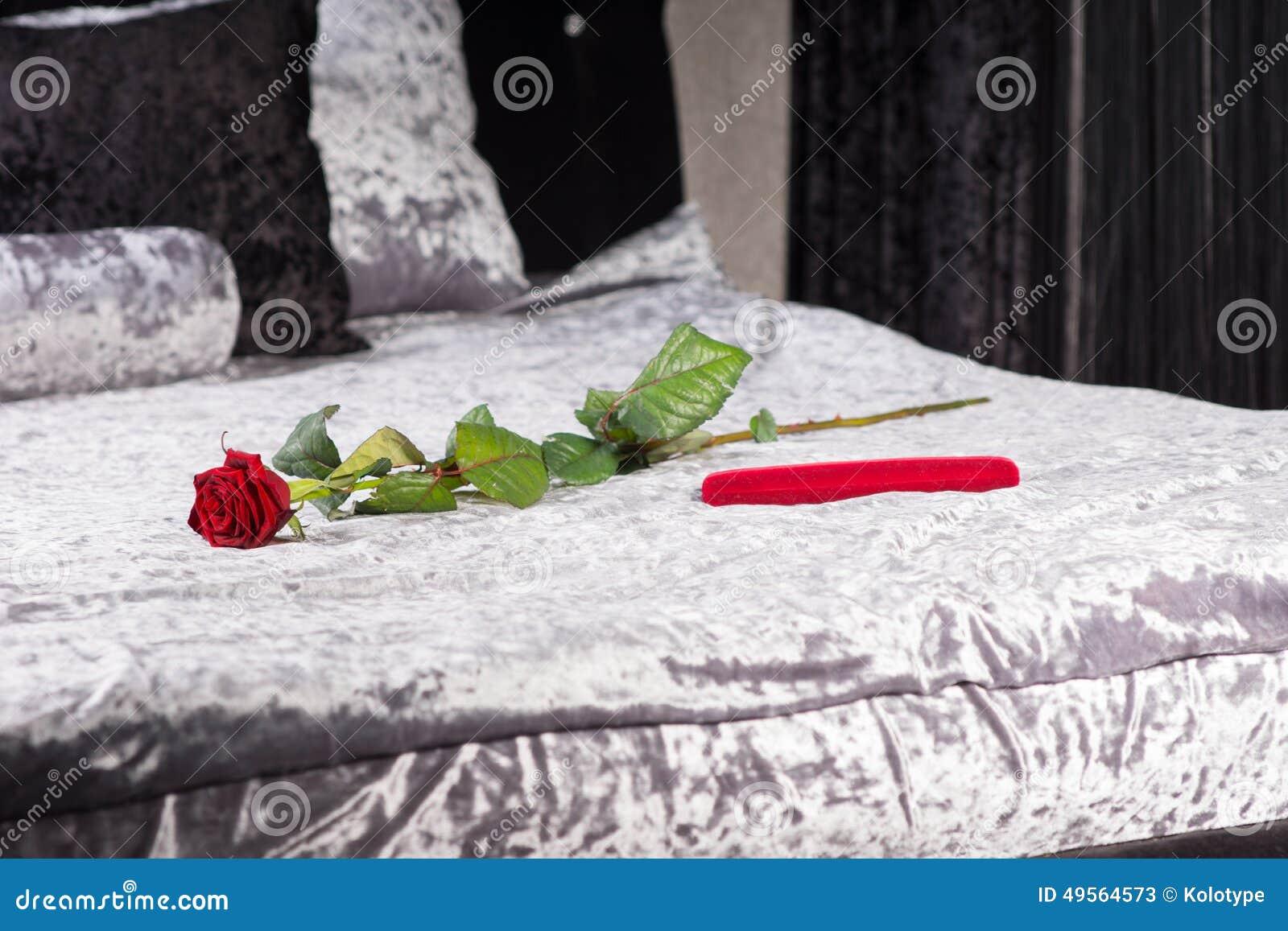 Il Regalo Romantico Ed è Aumentato In Una Camera Da Letto ...
