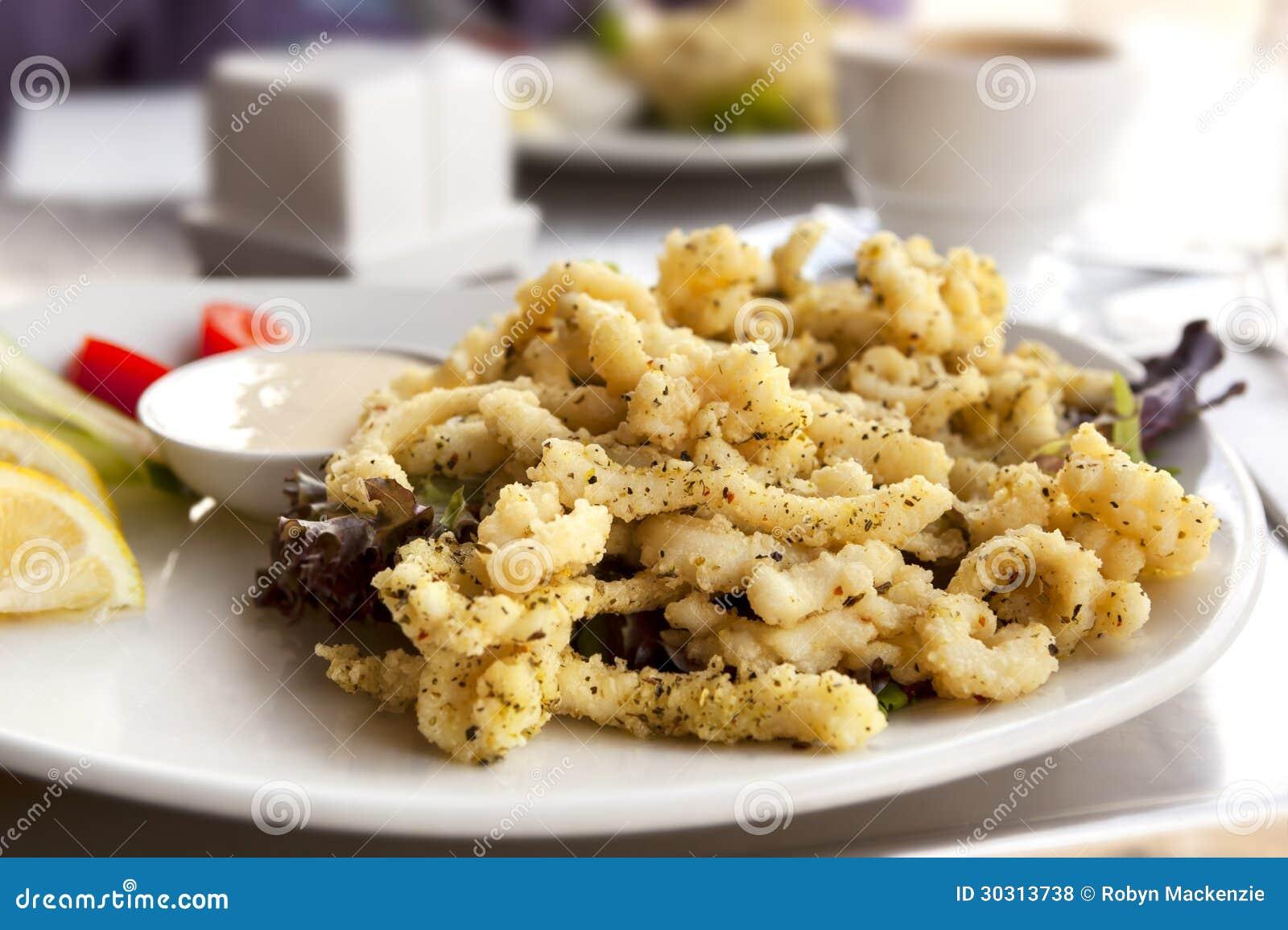 Calamaro del pepe e del sale