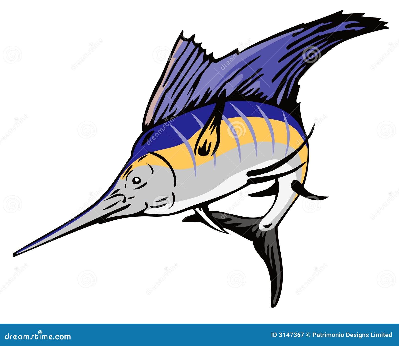 Il salto del pesce vela del Pacifico