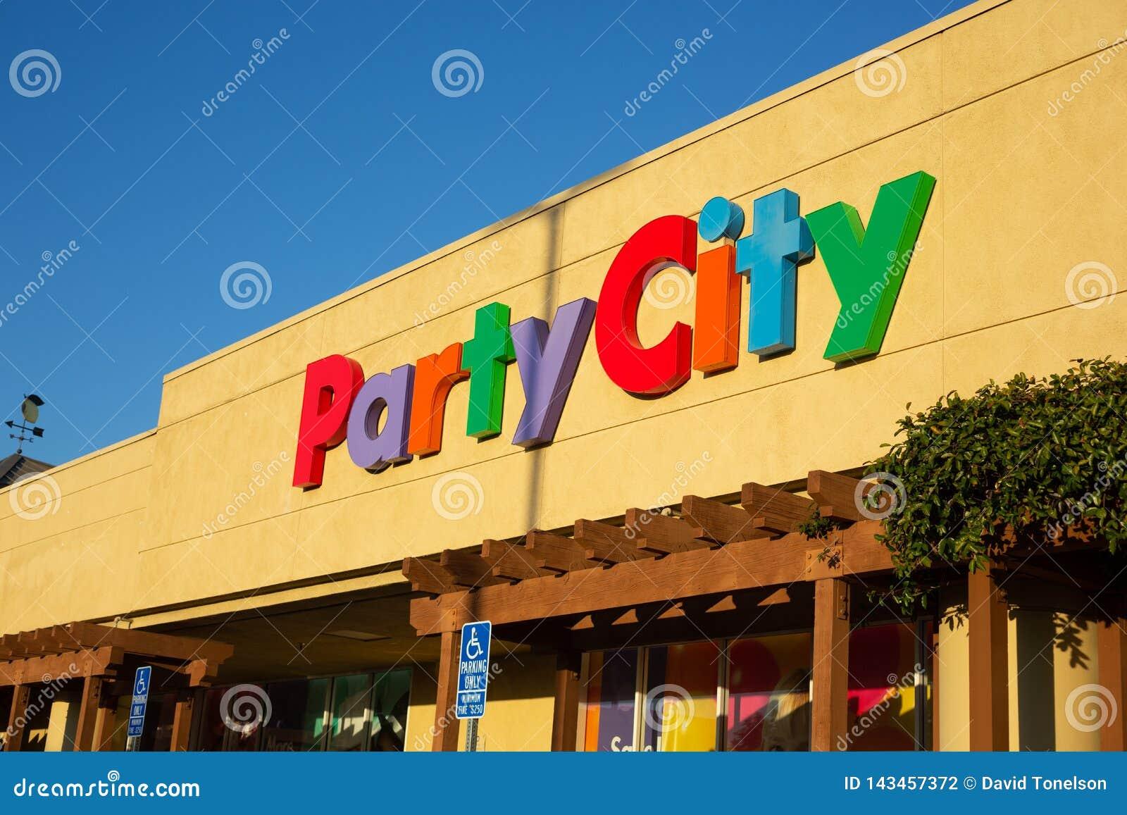 Il segno anteriore del deposito per la città del partito