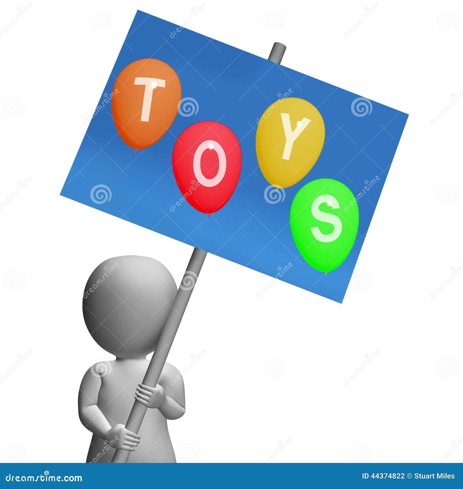 Il segno dei giocattoli rappresenta i bambini ed i giocattoli dei bambini